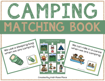 Camping Language Bundle with Adapted Books