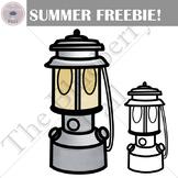 Camping Lantern Summer Freebie