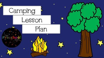 Camping Lesson Plan
