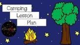 Camping Lesson Plan (Creative Curriculum) EDITABLE