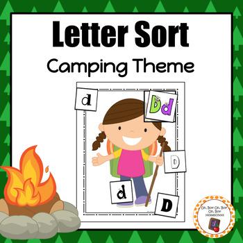 Camping Letter Sort - S
