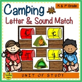 Camping Letter & Sound Match Game