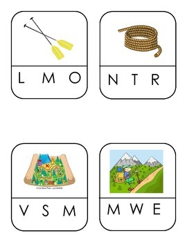 Camping Letter Sounds ... clothes pin game
