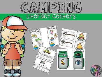 Letter Match, CVC words, Rhyming Literacy Centers