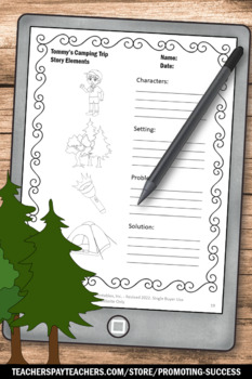 Camping Activities Summer Literacy Worksheets Reading Comprehension Strategies