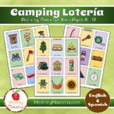 Camping Lotería Game