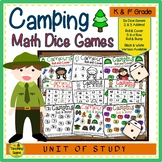 Camping Math Center Dice Games