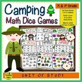 Camping Math Center Dice Games