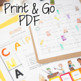Camping Math Challenges & Brainteasers-FF, Centers, Homework, Extensions
