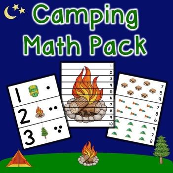 Camping Math Pack