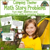 Camping Math Story Problems