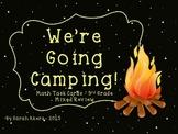 Camping Math Task Cards - 3rd Grade Mixed Review
