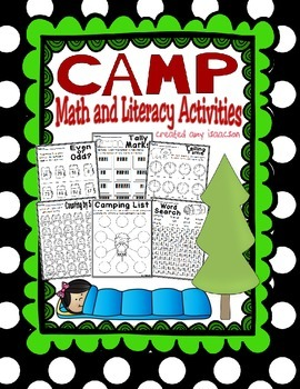 Camping Math and Literacy Activities