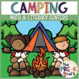Camping Math and Literacy Centers | Pre-K | K | preschool