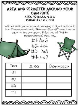 Camping Measurement