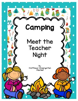 Camping Meet the Teacher Night