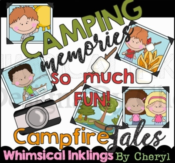 Camping Memories Clipart Collection