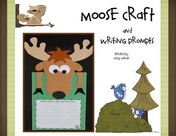 Camping: Moose Craft and Writing Prompts