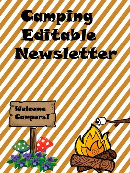 Camping Newsletter