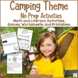 Camping No Prep Activities