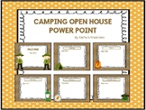 Camping Open House Power Point