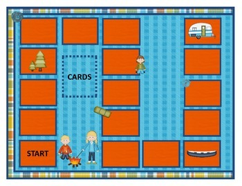 Camping Out Beginning Sound Game