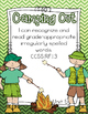 Camping Out~First Grade Unit 5 Common Core Sight Word Game