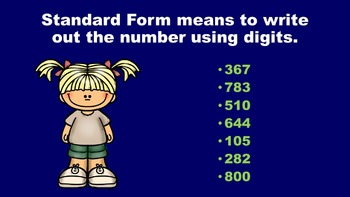 Camping Out With Number Forms - PowerPoint Game