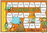 Camping Out Zero Fact Addition Board Game
