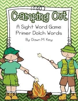 Camping Out~A Primer Dolch Sight Word Game