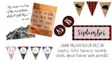Camping / Outdoor Classroom Decor Theme Bundle