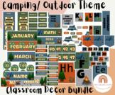 Camping/ Outdoor Decor- Classroom Decor *BUNDLE* Summer, Camp Theme