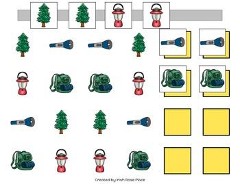 Camping Pattern Mats