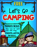 Camping Phonics oo