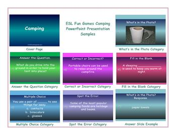 Camping PowerPoint Presentation