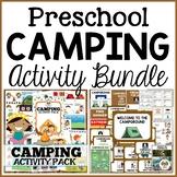 Camping Preschool Dramatic Play and Activities Bundle