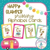 Camping Themed Classroom Printables: Primary Alphabet Posters