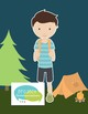 Camping Pronouns and Flashcards