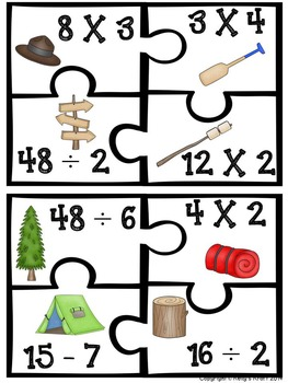Camping Puzzles