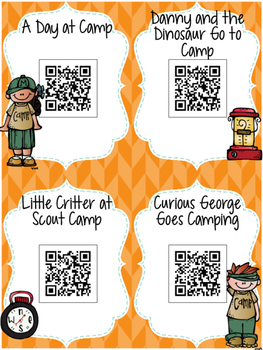 Camping QR Code Stories: 16 Outdoor Read-Alouds for Listen to Reading