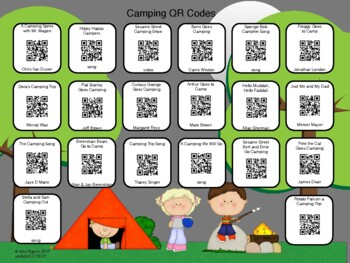 Camping QR Codes