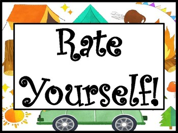 Camping Rate Yourself 4-3-2-1