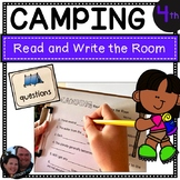 Camping Read and Write the Room Fourth Grade - Common Core