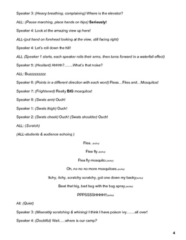 Camping Reader's Theater Script