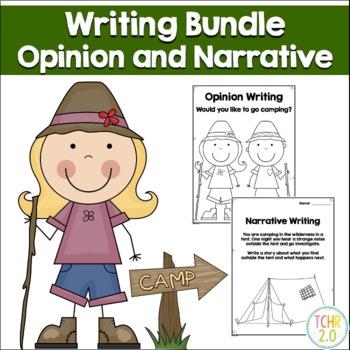 Camping Writing Bundle