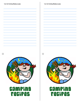 Girl Scout Camping Recipe Download