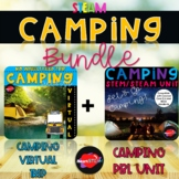 Camping STEM Bundle -Virtual Field Trip & Project-Based Learning