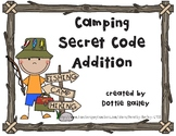 Camping Secret Code Addition - sums through 18