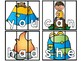 Camping Sight Word Puzzles