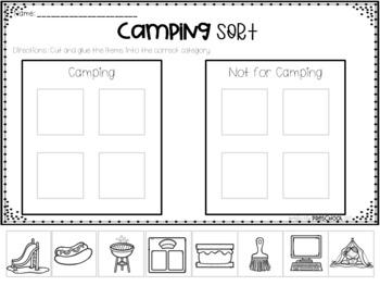Camping Sort